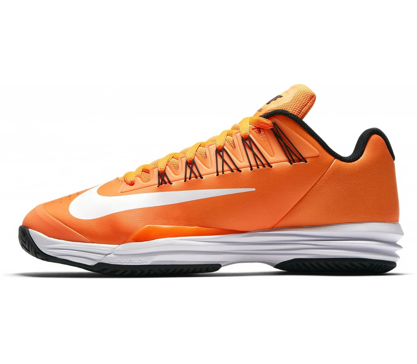 55d3ca9b942c Nike - Lunar Ballistec 1.5 men s tennis shoes (orange black) - buy ...
