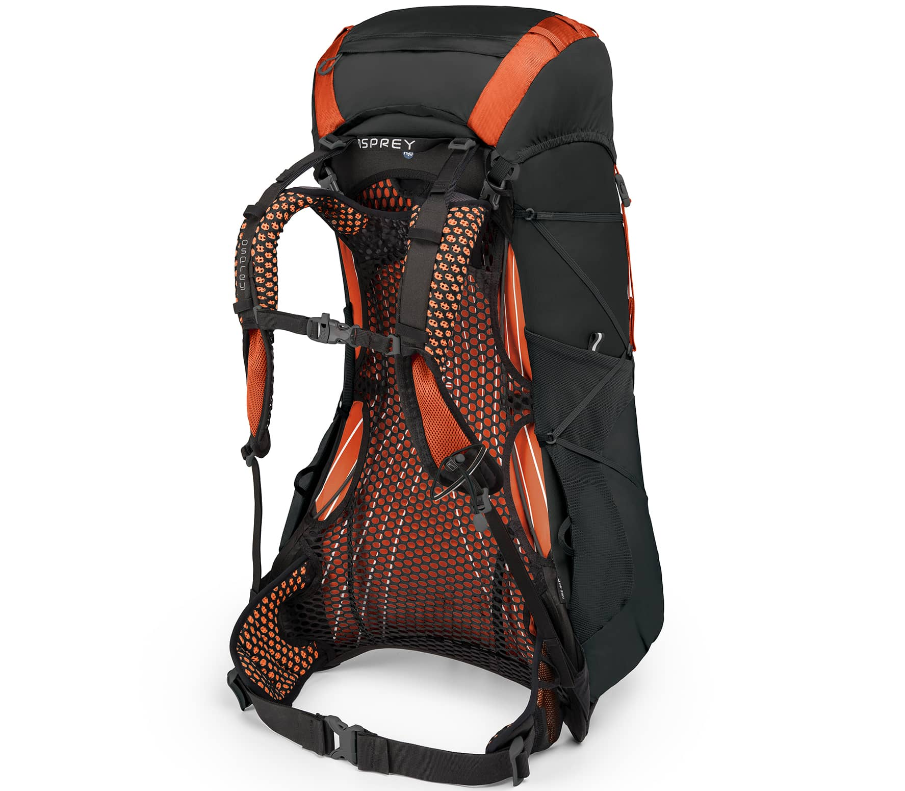 Osprey - Exos 38 technical hiking rucksack (black)