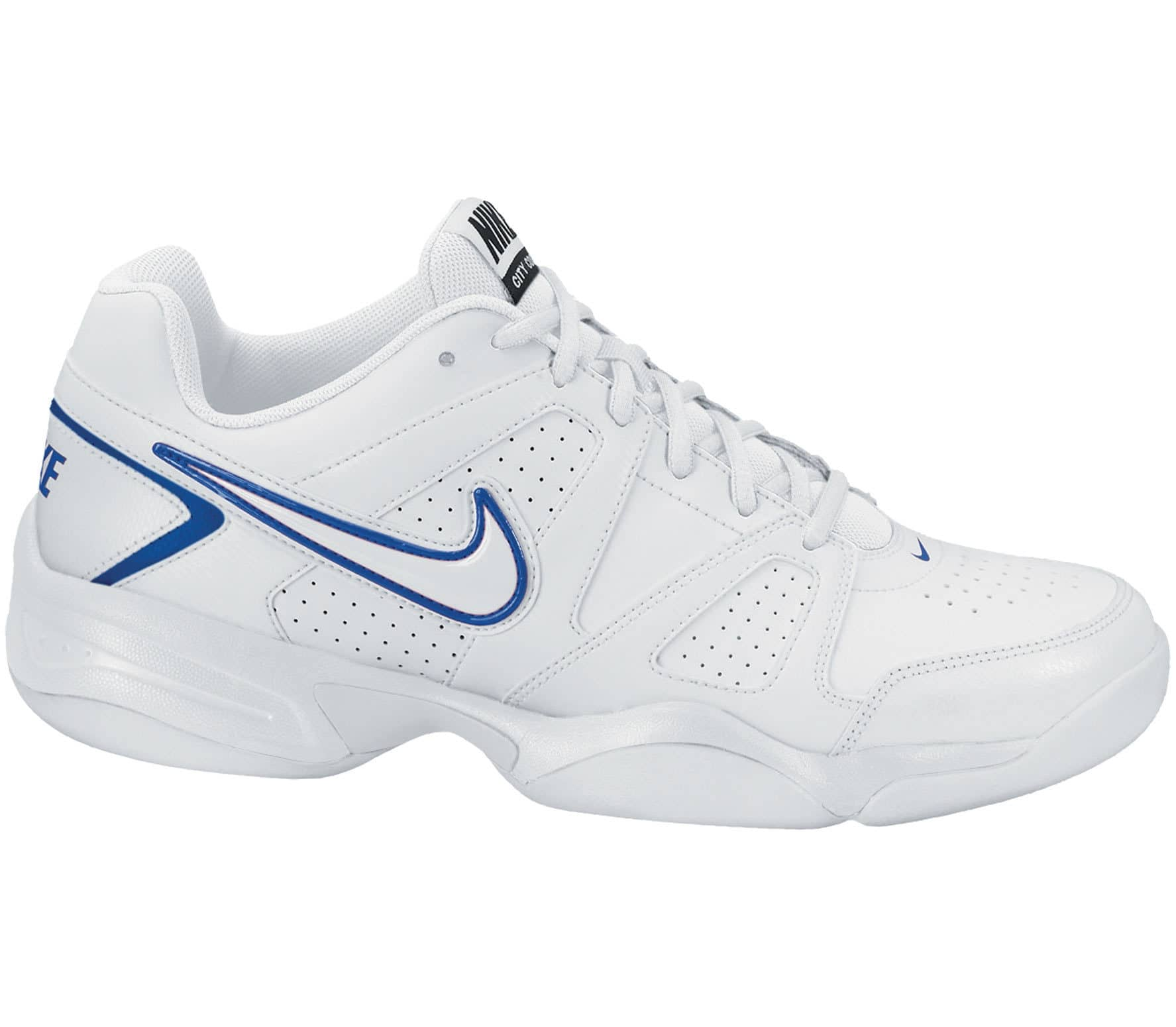 buy online 343f4 4ea3c Nike - City Court VII Indoor men s tennis shoes (white blue)
