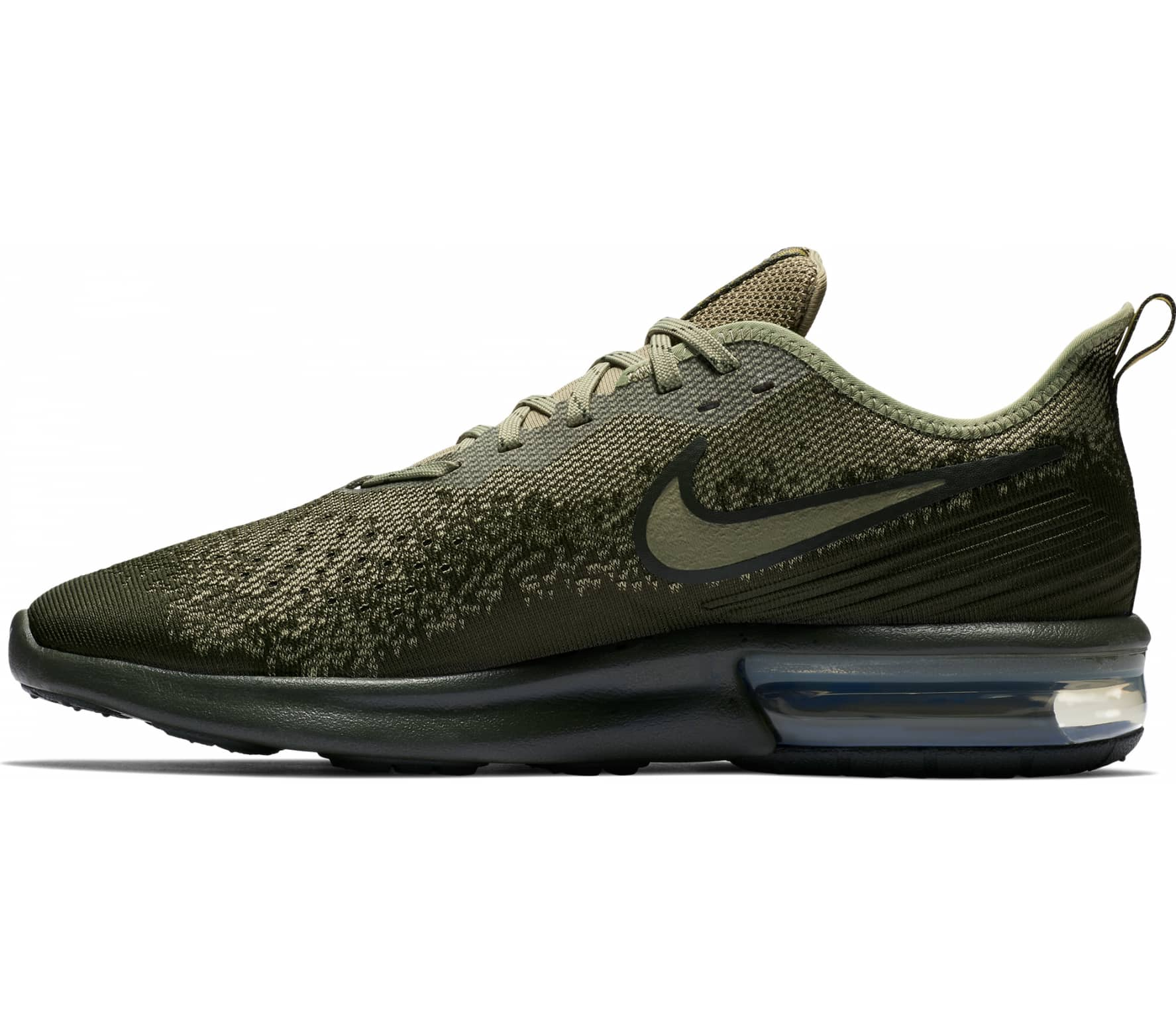 finest selection ccd8f e871f Nike - Air Max Sequent 4 Mænd løbesko (grøn)