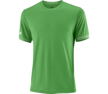 Wilson - Team Crew men's tennis top (green)