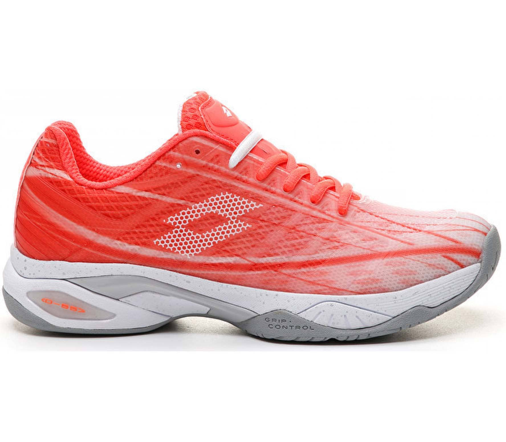 Lotto Mirage 300 Speed Femmes Chaussure tennis rouge