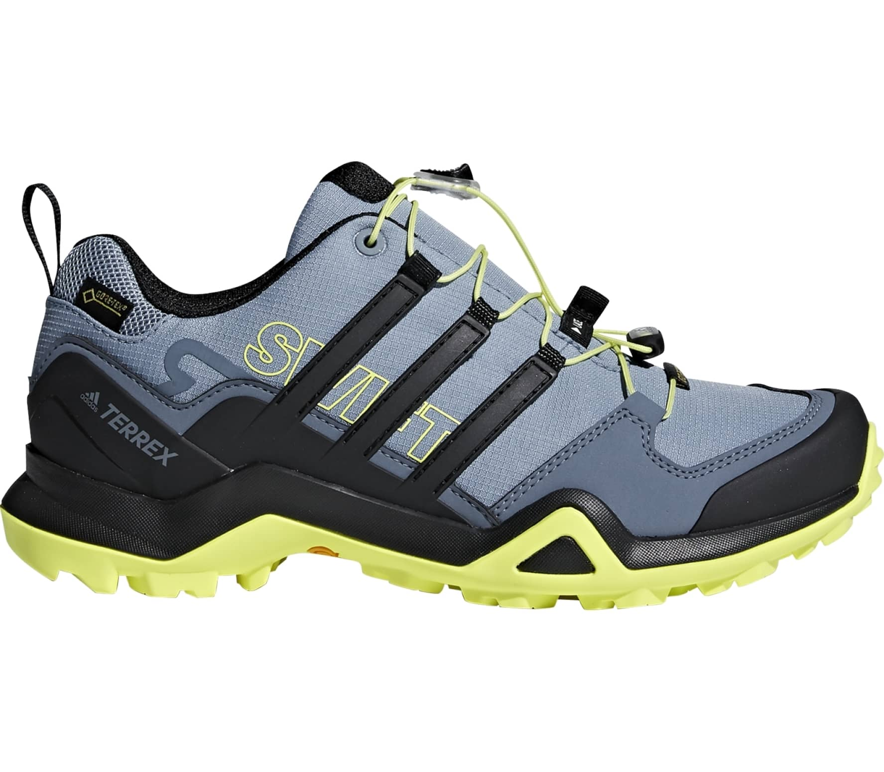 Adidas Terrex Swift R2 Gtx women's hiking shoes (blue yellow)