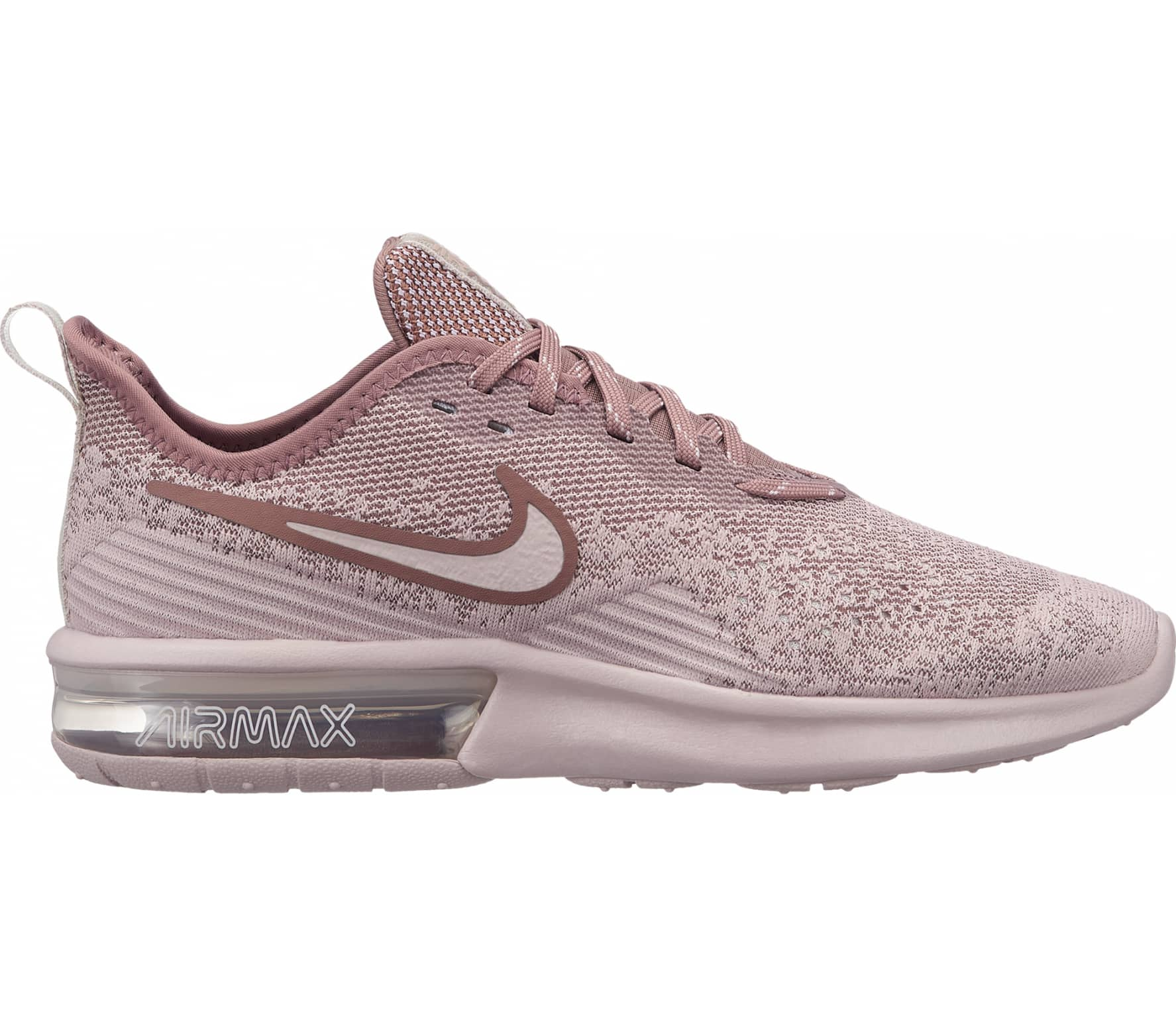 reputable site bd561 d7042 Nike - Air Max Sequent 4 Damen Laufschuh (pink)