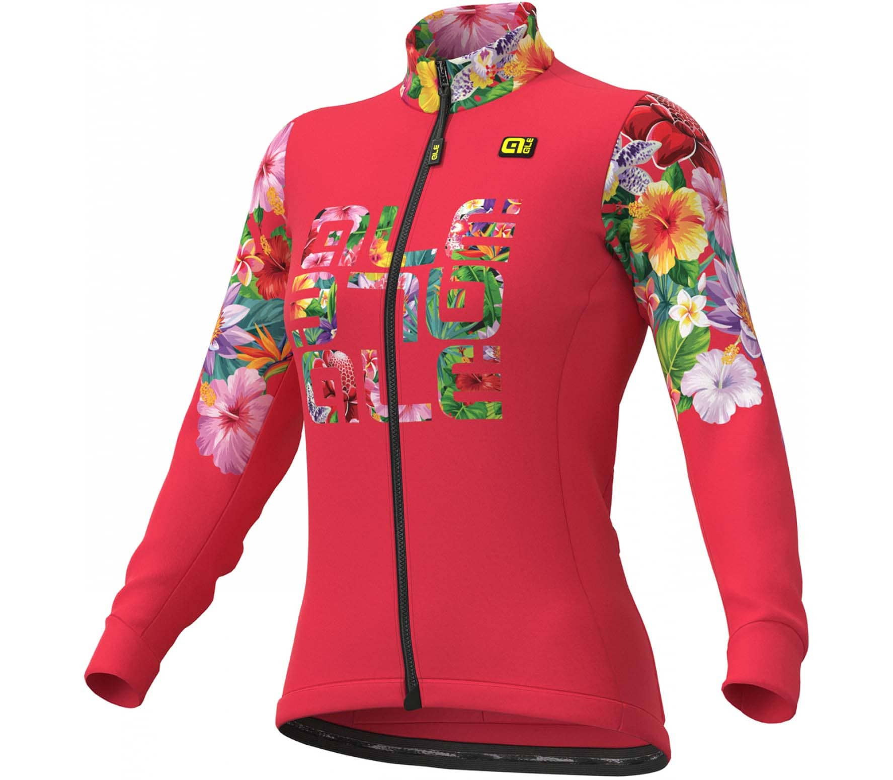 Solid - Ale' Lab Flowers Damen Radtrikot