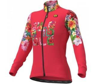 Solid - Ale' Lab Flowers Mujer Jersey de ciclismo