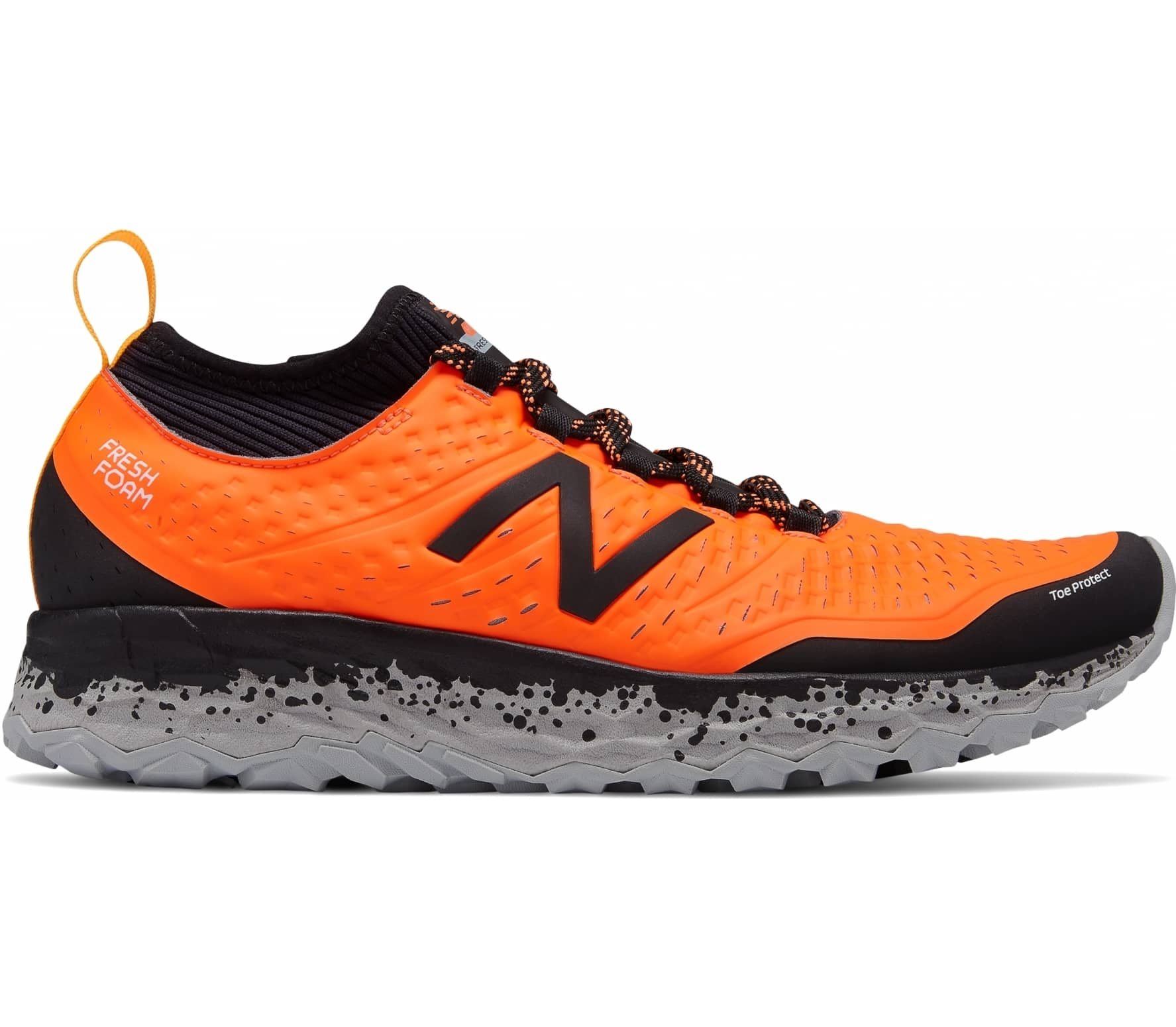 New Balance Fresh Foam M Hierro v3 men's running shoes (orangeblack)