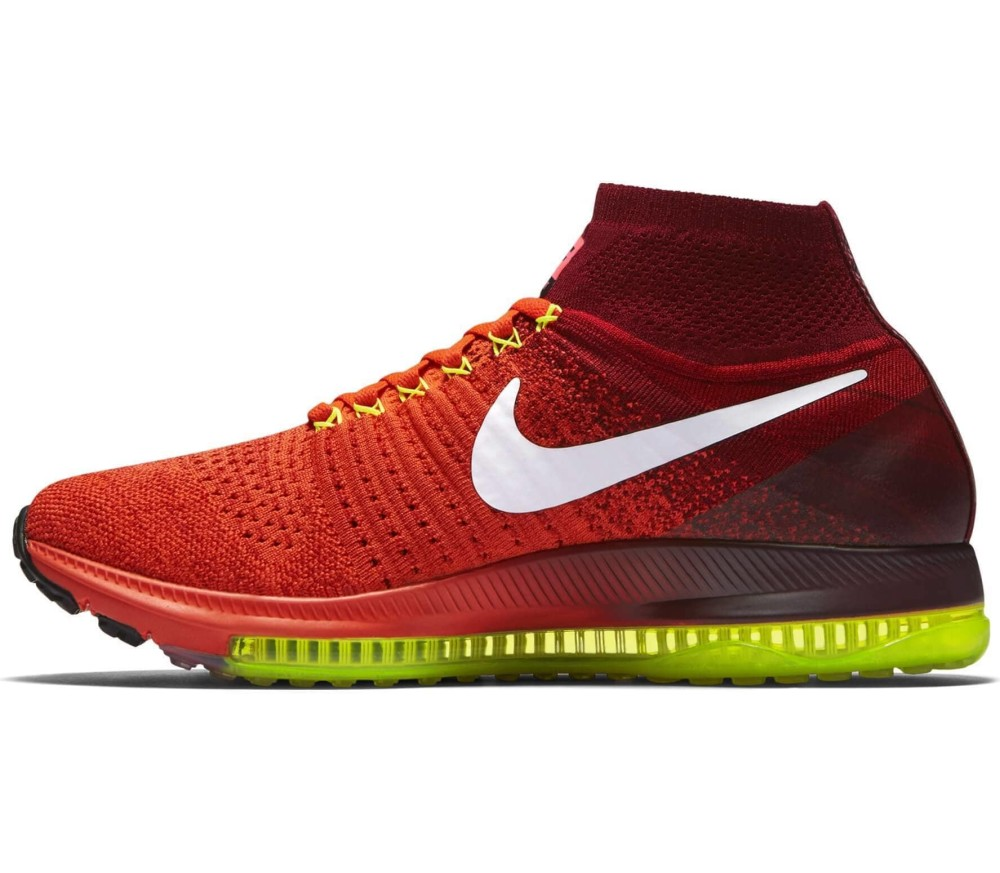 differently 0ab1c 344f2 Nike - Zoom All Out Flyknit women s running shoes (orange white)