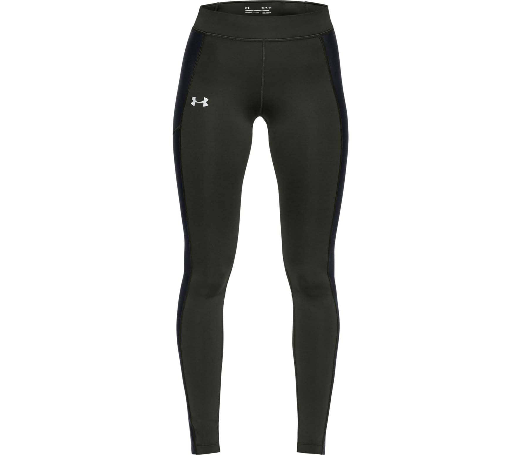 dd942c244b407 Under Armour - ColdGear® Run Storm women's running pants (green ...