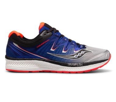 Saucony - Triumph Iso 4 men's running shoes (blue/grey)