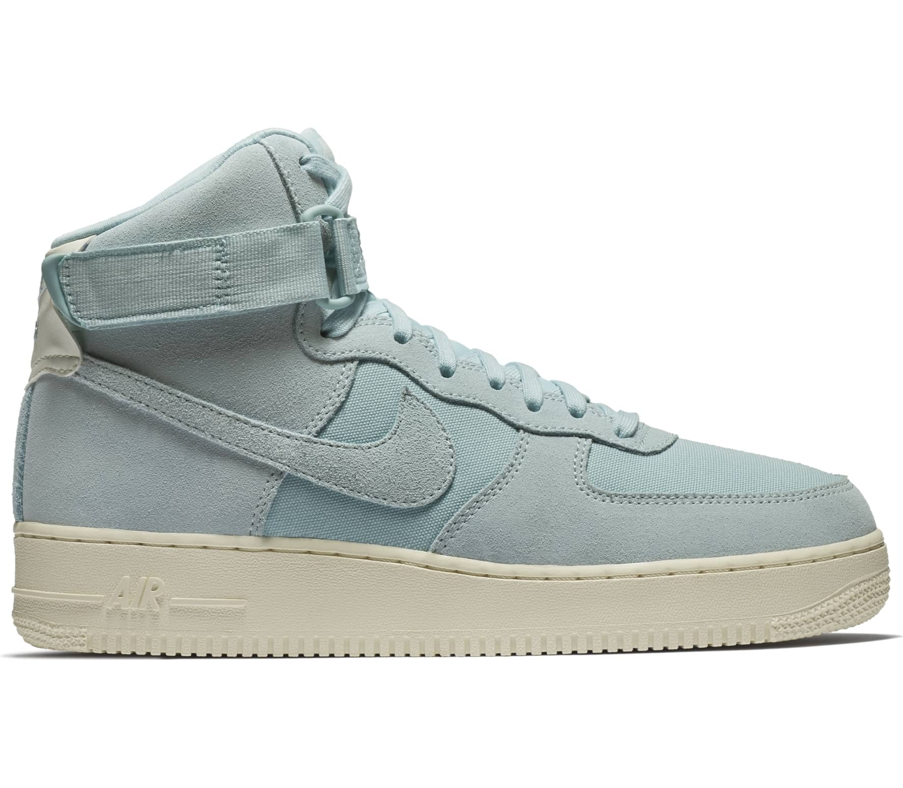 Nike Sportswear Air Force 1 High '07 Suede Herren Sneaker türkis