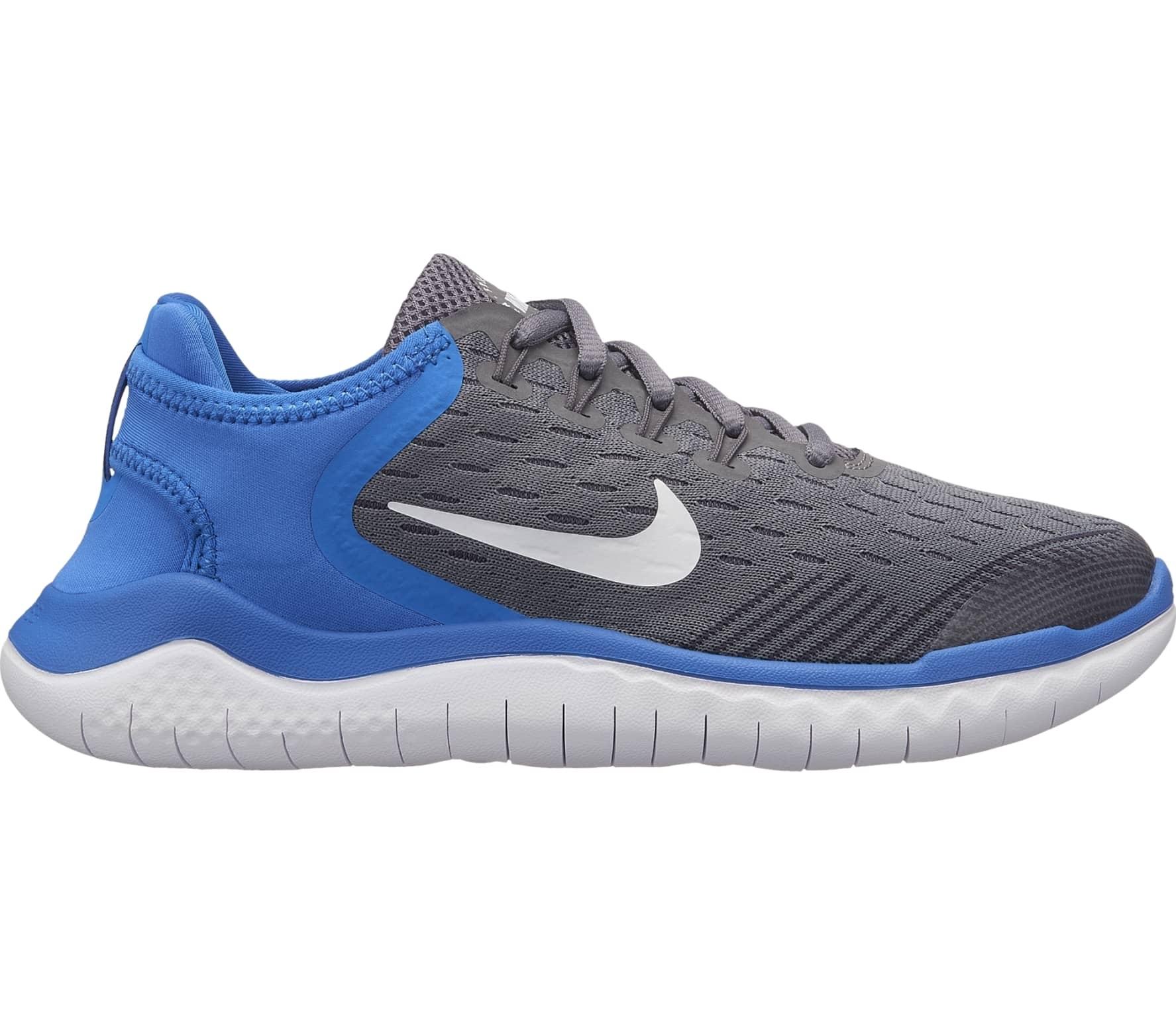 on sale d3ea2 f87cd Nike - Free RN 2018 Niños Zapatos para correr (gris) comprar en línea en  Keller Sports