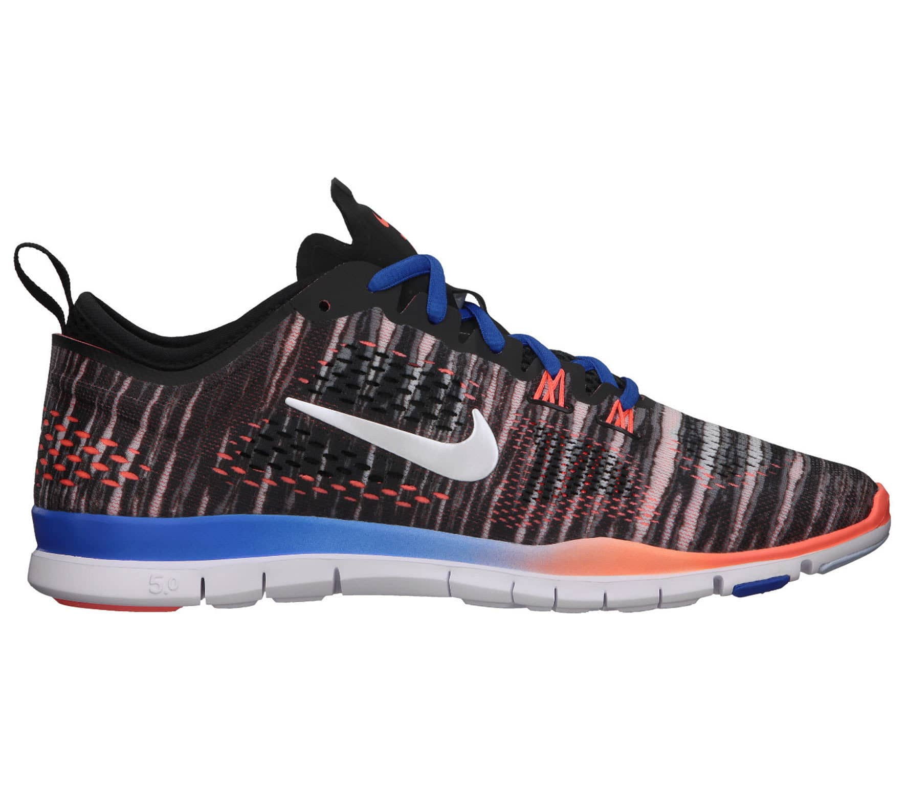 official photos 4a40e 412af Nike - Free 5.0 Trainer Fit 4 PRT women's training shoes (black/white)