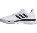 adidas Court Jam Bounce Herren Tennisschuh weiß