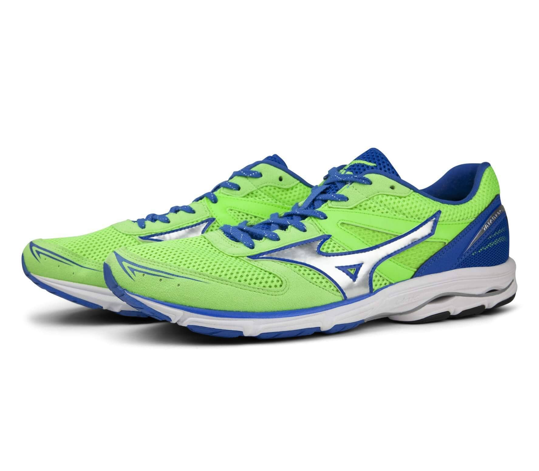 Mizuno Wave Aero 15 men's running shoes (light yellowblue)