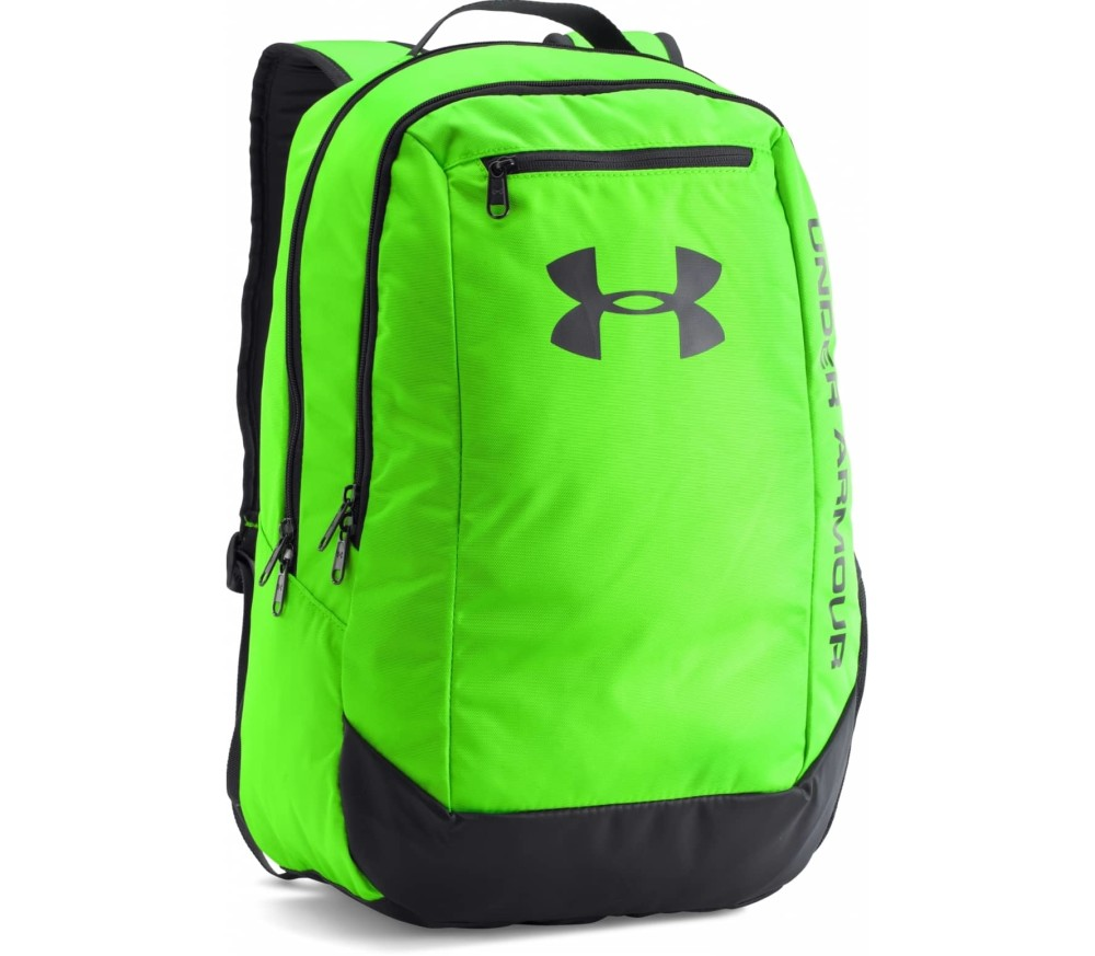 Under Armour Hustle Rucksack Neon Yellow Buy It At