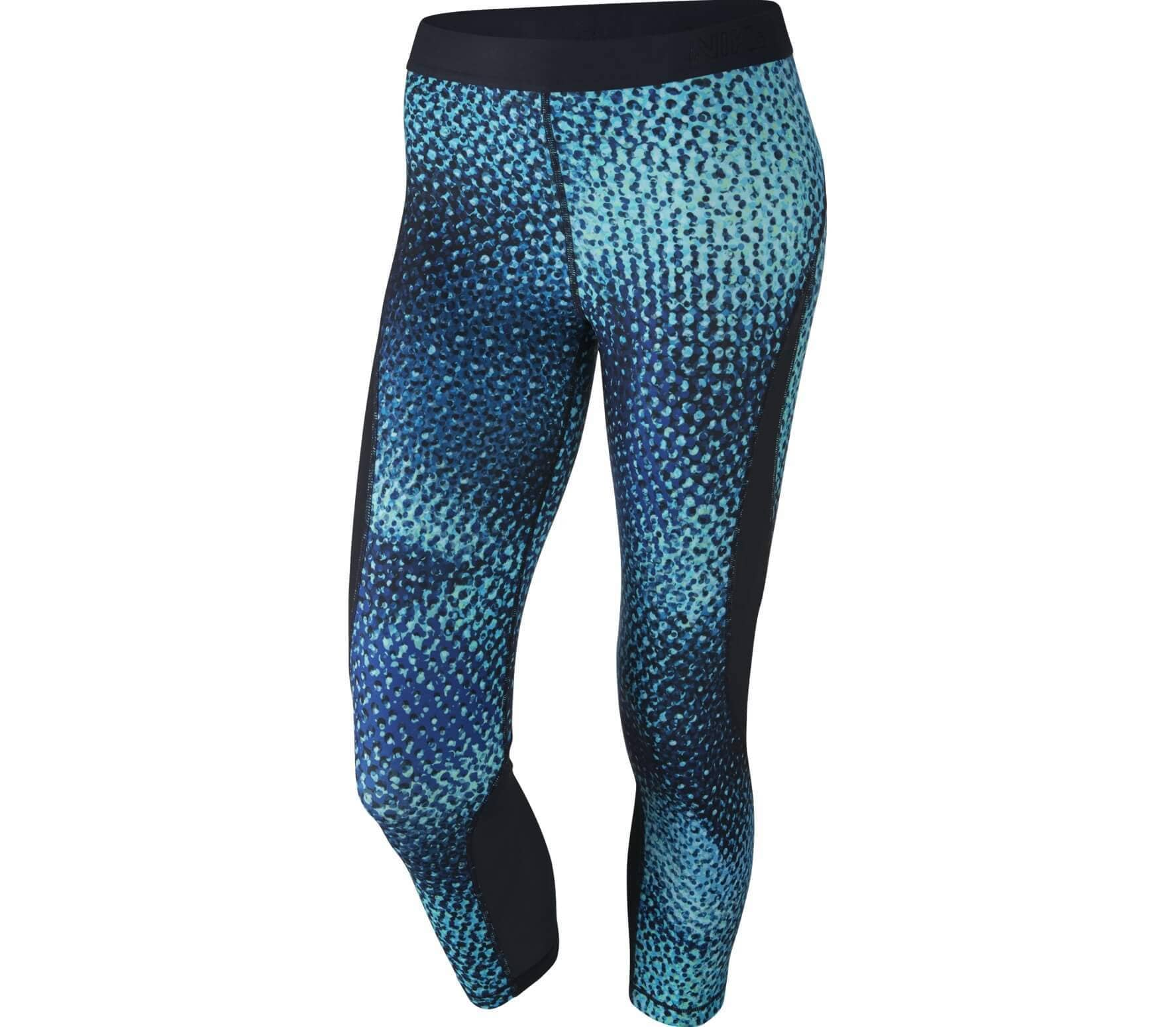 d69591236e58 Nike - Pro Hypercool women s training capri pants pants (blue black ...