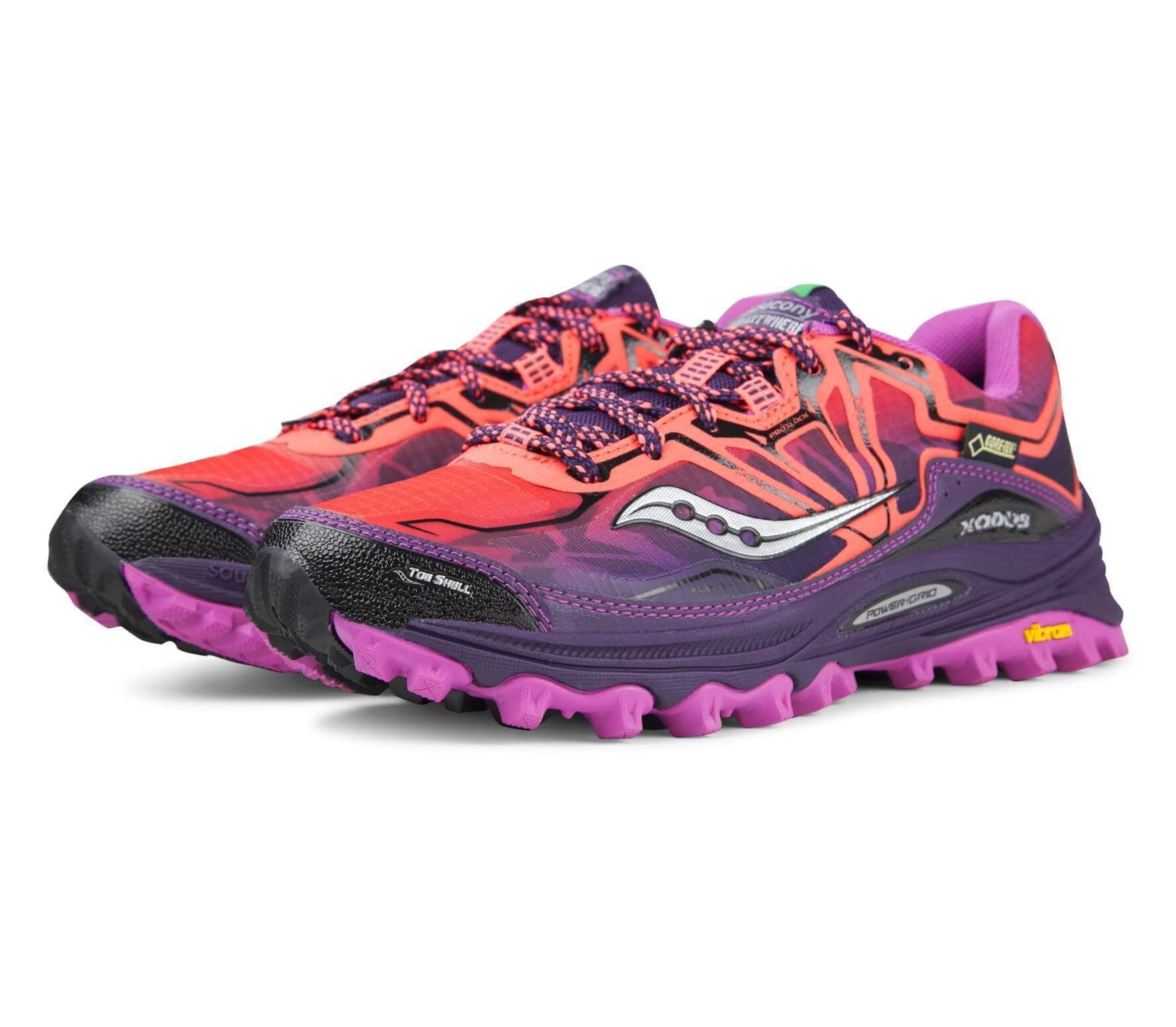 bc63108e3bbc Saucony - Xodus 6.0 GTX women s running shoes (pink violet) - buy it ...