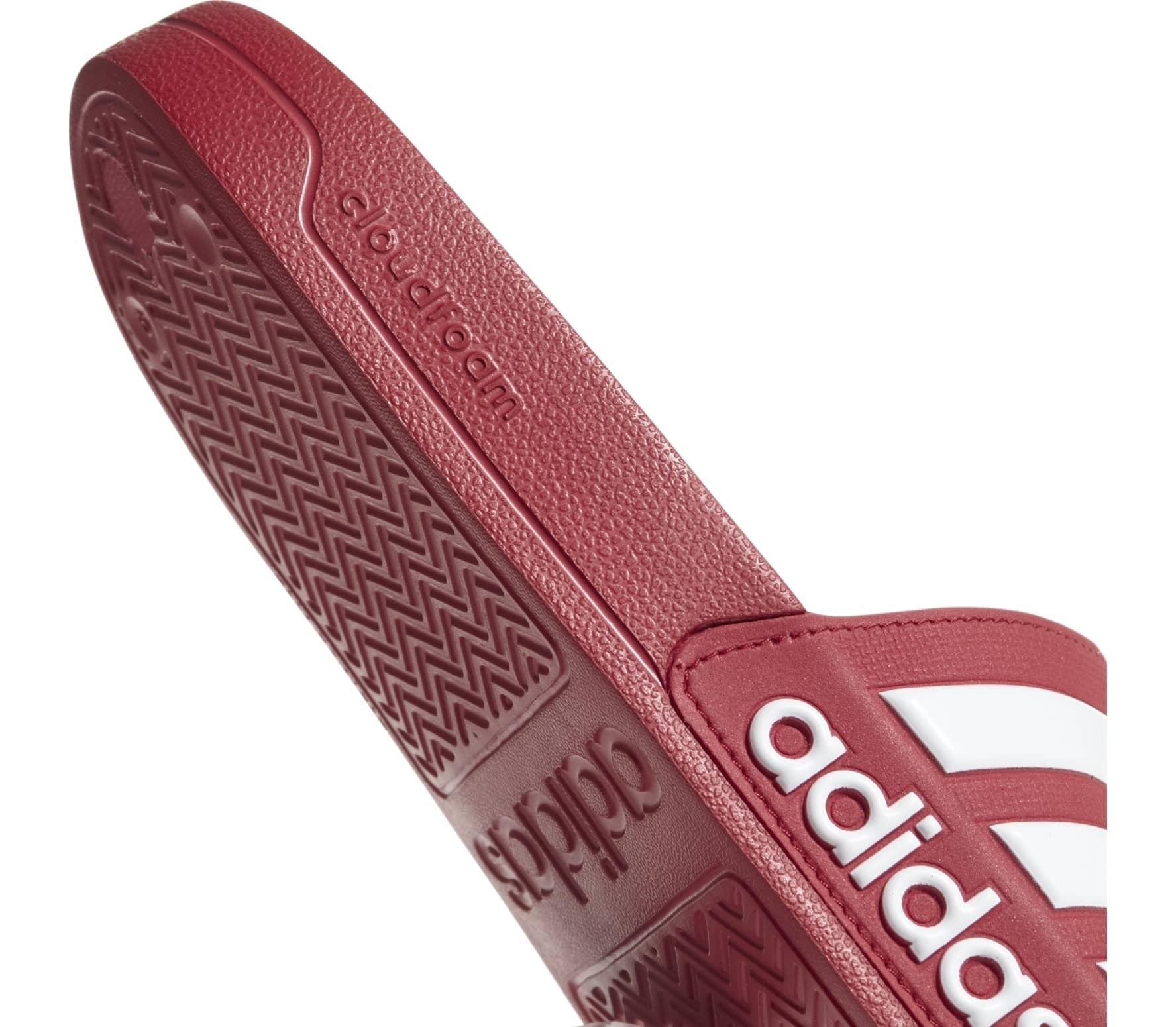 Adidas - Adilette Shower Herren Badeschlappe (rot/weiß)