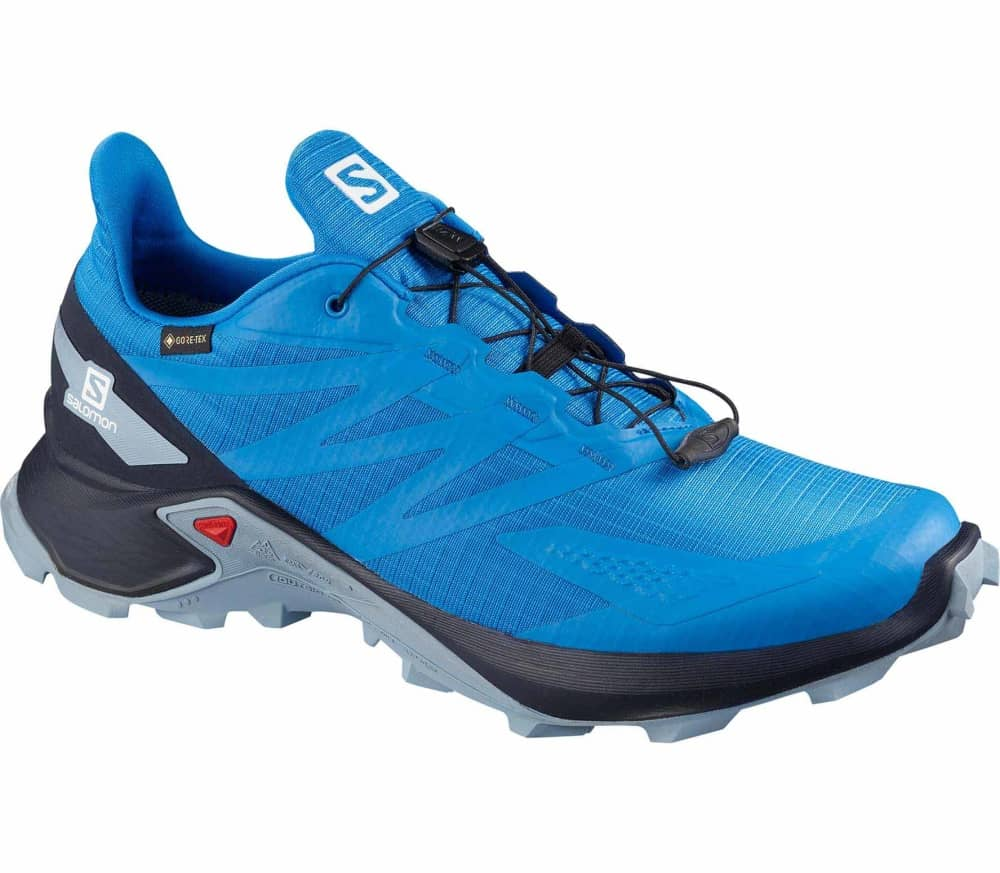 SALOMON Supercross Blast GORE-TEX Men Trailrunning Shoes (blue white) 118,90 €